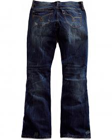 Tin Haul Men's Jagger Fit 2 Deco Stitch Bootcut Jeans