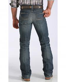 Cinch Men's Ian Mid-Rise Slim Bootcut Jeans