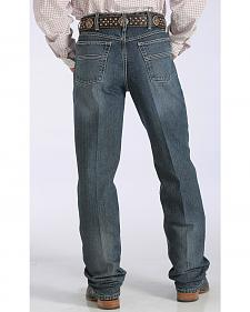 Cinch Men's Black Label Relaxed Fit Tapered Leg Jeans