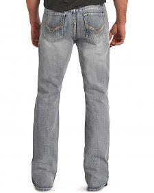 "Rock and Roll Cowboy Double Barrel ""V"" Pocket Jeans - Boot Cut"