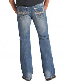 Rock and Roll Cowboy Pistol Regular Fit Jeans - Boot Cut