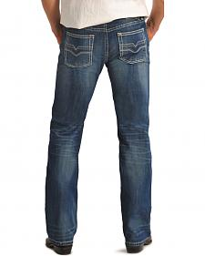 "Rock and Roll Cowboy Pistol Double ""V"" Regular Fit Jeans - Straight Leg"
