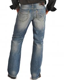 Rock & Roll Cowboy Double Barrel Medium Wash Bootcut Jeans
