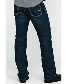 Ariat Men's Jeans - M4 Rebar Bootcut Dark Wash Relaxed Fit