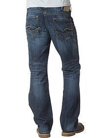 Silver Men's Craig Bootcut Jeans