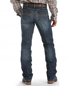Cinch Men's Silver Label Dark Wash Performance Jeans