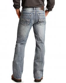 Rock and Roll Cowboy Double Barrel Diamond Relaxed Fit Jeans - Boot Cut