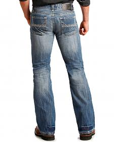 "Rock and Roll Cowboy Pistol ""V"" Regular Fit Jeans - Boot Cut"