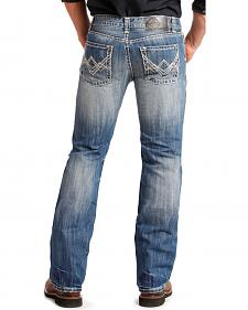 "Rock and Roll Cowboy Pistol Regular Fit ""A"" Jeans - Straight Leg"