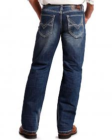 Rock and Roll Cowboy Men's Cannon Abstract Jeans - Bootcut