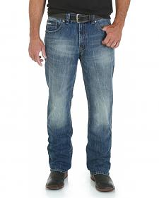 Wrangler Rock 47 Men's Mosh Pit Boot Cut Jeans - Slim Fit