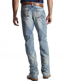 Ariat Men's M4 Crossroad Low Rise Bootcut Jeans