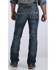 Cinch Men's Ian Mid-Rise Slim Fit Bootcut Jeans