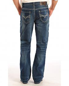 "Rock and Roll Cowboy Double Barrel ""V"" Stitch Jeans - Boot Cut"