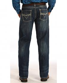 "Rock and Roll Cowboy Tuf Cooper Competition Fit ""V"" Pocket Jeans"