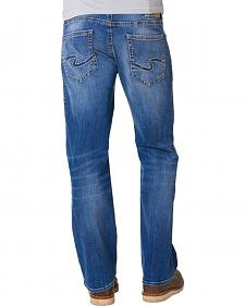 Silver Jeans Men's Zac Signature Relaxed Fit Straight Leg Jeans
