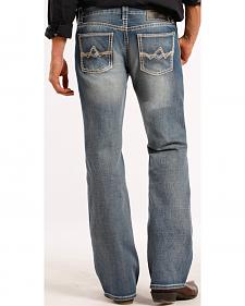 Rock and Roll Cowboy Pistol  Running Stitch Jeans - Boot Cut