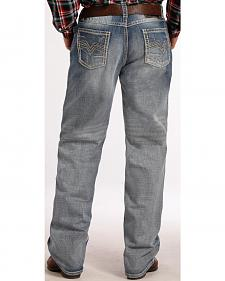 Tuf Cooper Performance Competition Fit Light Wash Jeans - Straight Leg