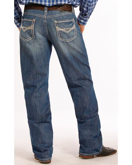 Tuf Cooper Performance Competition Fit Jeans - Straight Leg