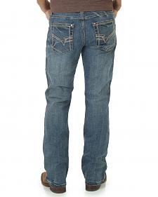 Wrangler Rock 47 Men's Blues Bootcut Jeans