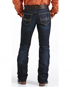 Cinch Men's Ian Dark Rinse Slim Fit Jeans - Boot Cut