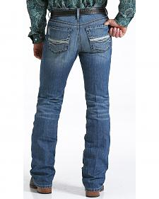 Cinch Men's Ian Medium Stonewash Slim Fit Jeans - Boot Cut