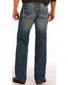Rock and Roll Cowboy Pistol Small V Jeans - Straight Leg
