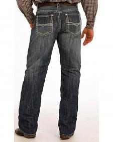 Tuf Cooper Performance Dark Vintage Competition Fit Jeans - Straight Leg