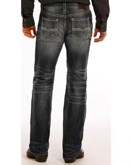 Rock and Roll Cowboy Pistol Flex Jeans - Straight Leg