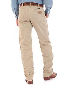 Wrangler Cowboy Cut Prewashed Khaki Original Fit Jeans