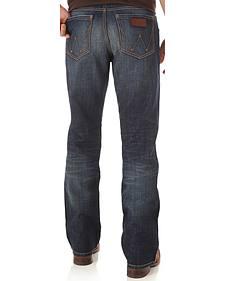 Wrangler Retro Men's Indigo Relaxed Boot Cut Jeans