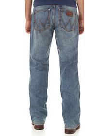 Wrangler Retro Men's Indigo Athens Slim Boot Cut Jeans