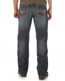 Wrangler Men's Indigo Rhythm Slim Boot Jeans - Big and Tall