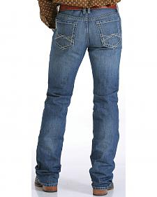 Cinch Men's Indigo Ian Mid-Rise Slim Fit Jeans - Bootcut