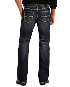 Rock and Roll Cowboy Pistol Dark Wash Jeans - Straight Leg