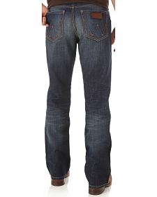 Wrangler Retro Men's Indigo Relaxed Boot Cut Jeans - Big and Tall