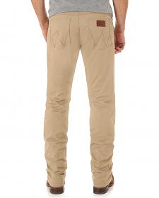 Wrangler Retro® Men's Light Brown Slim Straight Jeans - Long