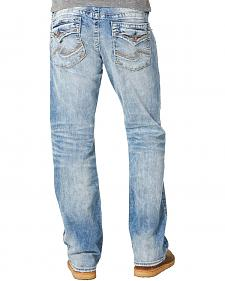 Silver Jean's Men's Zac Light Wash Relaxed Fit Jeans - Straight Leg