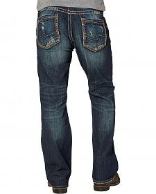 Silver Men's Craig Rinse Wash Jeans - Bootcut