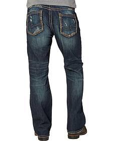 Silver Men's Craig Rinse Wash Jeans - Bootcut