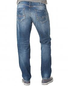 Silver Men's Nash Classic Fit Straight Jeans
