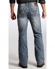 Rock and Roll Cowboy Double Barrel Relaxed Bootcut Jeans