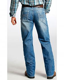 Tuf Cooper Men's Competition Fit Medium Wash Straight Jeans