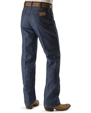"Wrangler Jeans - 13MWZ Original Fit Rigid - 38"" & 40"" Tall Inseams"