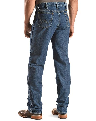 "Wrangler Jeans 13MWZ George Strait Original Fit 38"" Tall Inseam Western & Country 13MGSHD_X1"