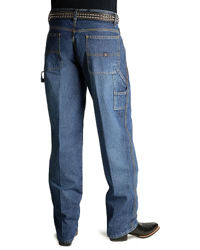 "Cinch  Jeans Blue Label Utility Fit 38"" Tall Inseam Western & Country MB90434002 IND"