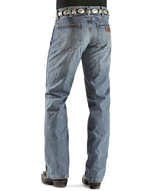 "Wrangler Jeans - Premium Patch Slim 77 - 38"" Tall Inseam"