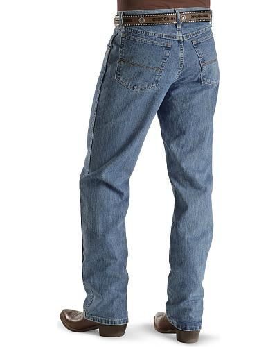 "Wrangler 20X Jeans No. 23 Relaxed Fit 38"" Tall Inseam Western & Country 23MWXVB"