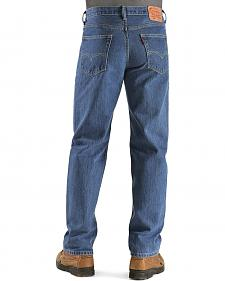 """Levi's � Jeans 550 Relaxed Fit - Prewashed & Rinsed - Big 44"""" to 48"""" Waist"""