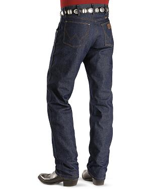 "Wrangler Jeans - 47MWZ Original Fit Rigid - In 38"" Inseam"
